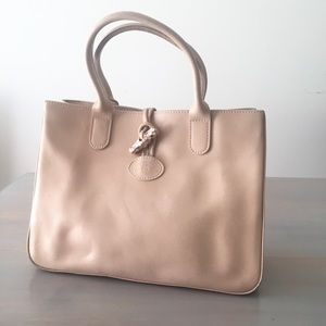 Longchamp Roseau Bag with Mother of Pearl Toggle